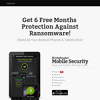 Free 6 Months of Mobile Security & Antivirus