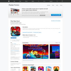 iTunes - Free Pixel Boat Rush - Freestuff com au