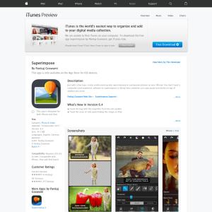 iTunes - Free Superimpose - Freestuff com au